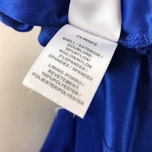 Laundry By Shelli Segal Dresses - Laundry By Shelli Segal Blue Crochet Dress S
